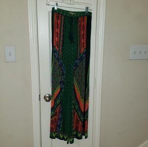 Multicolor palazzo pants
